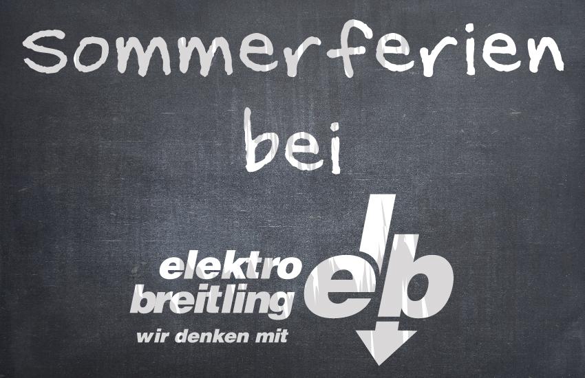 """Elektro Breitling beteiligt sich an den """"SchulferienFirmentage"""""""